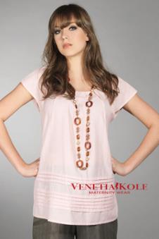 VENETIA KOLE孕妇装服饰样品T恤款式