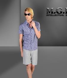 马基堡M.G.B2012男装服饰样品 T恤