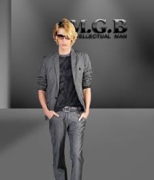 马基堡M.G.B2012男装服饰样品 西装