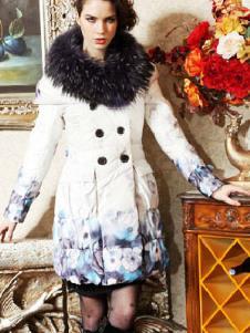 宝丽PORLE2013冬季女装样品 羽绒服