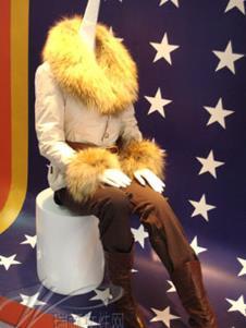 雪伦SHARON2013冬季羽绒服样品 羽绒服
