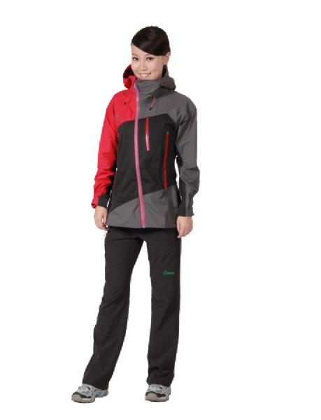 思凯乐SCALER2013春夏户外运动装双层冲锋衣