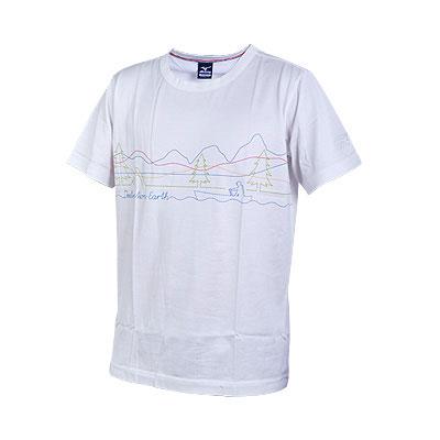 美津浓MIZUNO经典运动装圆领短袖T恤
