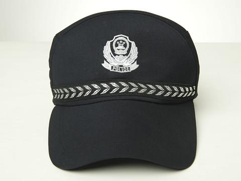 中国警察帽子简笔画