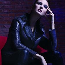 美丽绒meilirong皮革服饰样品