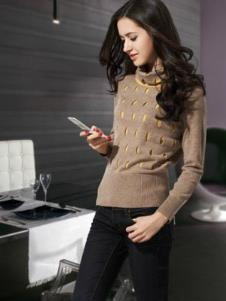 佐米嘉2013春季女士羊绒样品