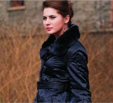 BML2012秋冬皮草服飾樣品女裝裘皮外套款式