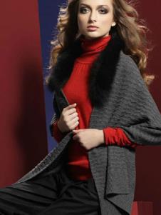 好韵莱HORRENA2013春季女士羊绒样品
