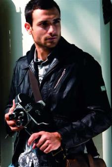 帕雷帝尼2012男装品牌服饰样品外套款式