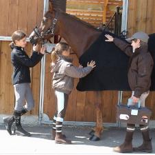 Fouganza經典馬術運動裝兒童套裝