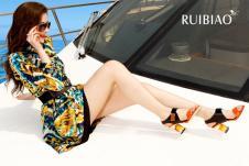 瑞彪Ruibiaon2013春夏女装服饰样品连衣裙款式