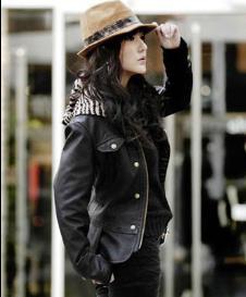 芭如赫BARUHE皮革服饰样品女装皮衣外套款式