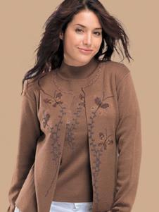 路易安娜LOUIANA2011春季女士羊绒样品