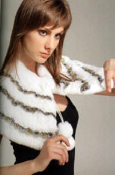 獅迪SHIDR皮革服飾樣品皮草女裝馬甲