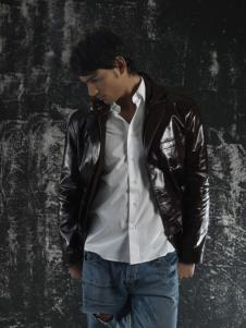 ELIBOL皮革服饰样品男装皮革外套款式