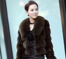 香港报喜天使HK JOY ANGEL皮草服饰样品皮草女装外套款式