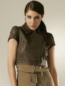 雷事達leishida皮革皮草服飾樣品女裝皮衣外套