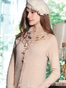 玫瑰传说ROSESTORY2013秋季女士羊绒样品