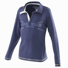 Fouganza经典马术运动装长袖T恤
