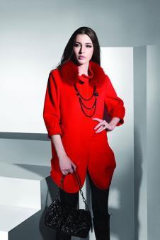 靓月IANGYUE皮革服饰样品裘皮服饰女装外套款式