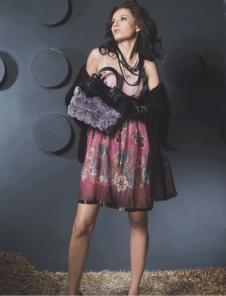雷事達leishida皮革皮草服飾樣品皮草女裝外套