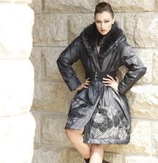 波茜米娅bosimmia皮草女装服饰样品外套款式