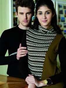 青藏绒针织毛衫11638款
