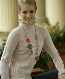 萬里春2013春季女士針織羊絨樣品