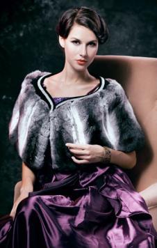 芭而蒂Baerdi皮草服饰样品皮草女装外套款式