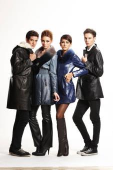 太球TAIQIU皮革服饰样品裘皮服装男女装外套款式