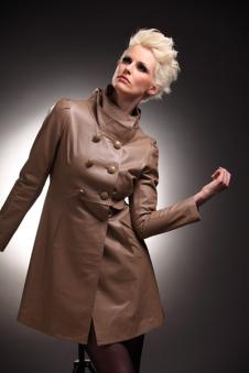 普莱姆Pulaimu皮革服饰样品裘皮服装外套款式