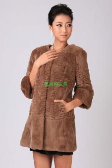 斯緯爾Swelled皮草服飾樣品皮草女裝外套款式