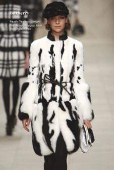 世家皮草Saga Furs服饰样品皮草女装外套款式
