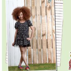 时尚小鱼S.S.XIAOYU2012春夏童装裙子