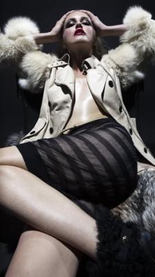 愛芭娜AIBANA皮草皮革服飾樣品裘皮女裝外套款式