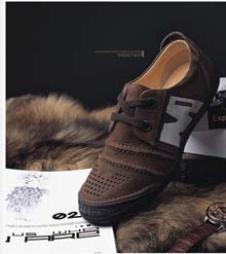 七匹狼鞋业16919款