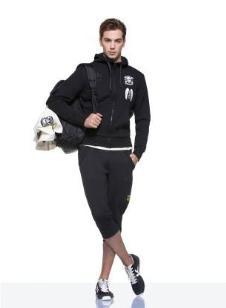 背靠背KAPPA经典运动装男式运动套装