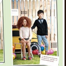 时尚小鱼S.S.XIAOYU2012春夏童装衬衫