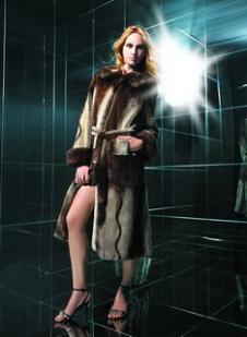 京都皮草JID皮草服飾樣品皮草女裝外套款式
