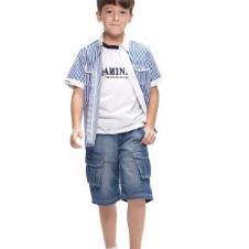 KAMINEY2013春夏童装衬衫