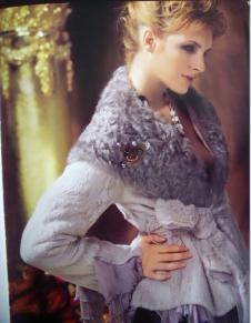 歐思帝娜OSSTINA2012秋冬皮草服飾樣品外套款式