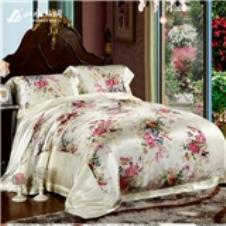 山水丝绸床上用品17841款