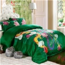 山水丝绸床上用品17842款
