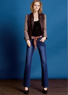 娅丽达YERAD经典时尚女士牛仔裤
