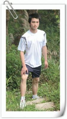 木村MUCUN休闲品牌服饰样品男装T恤
