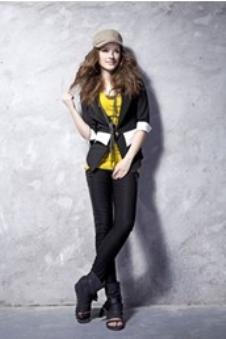 碧芙艾思2013春夏时尚潮流女装样品
