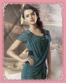 艾莱女装17334款