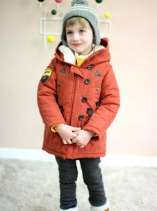 Andiapple童装温暖填充棉衣外套