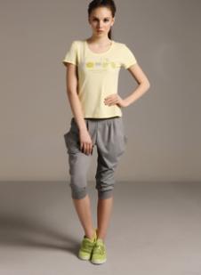 迪亚多纳Diadora2013夏季运动装服饰样品女装T恤