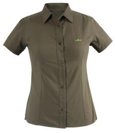 Jeff Green经典户外运动装女款短袖衬衫